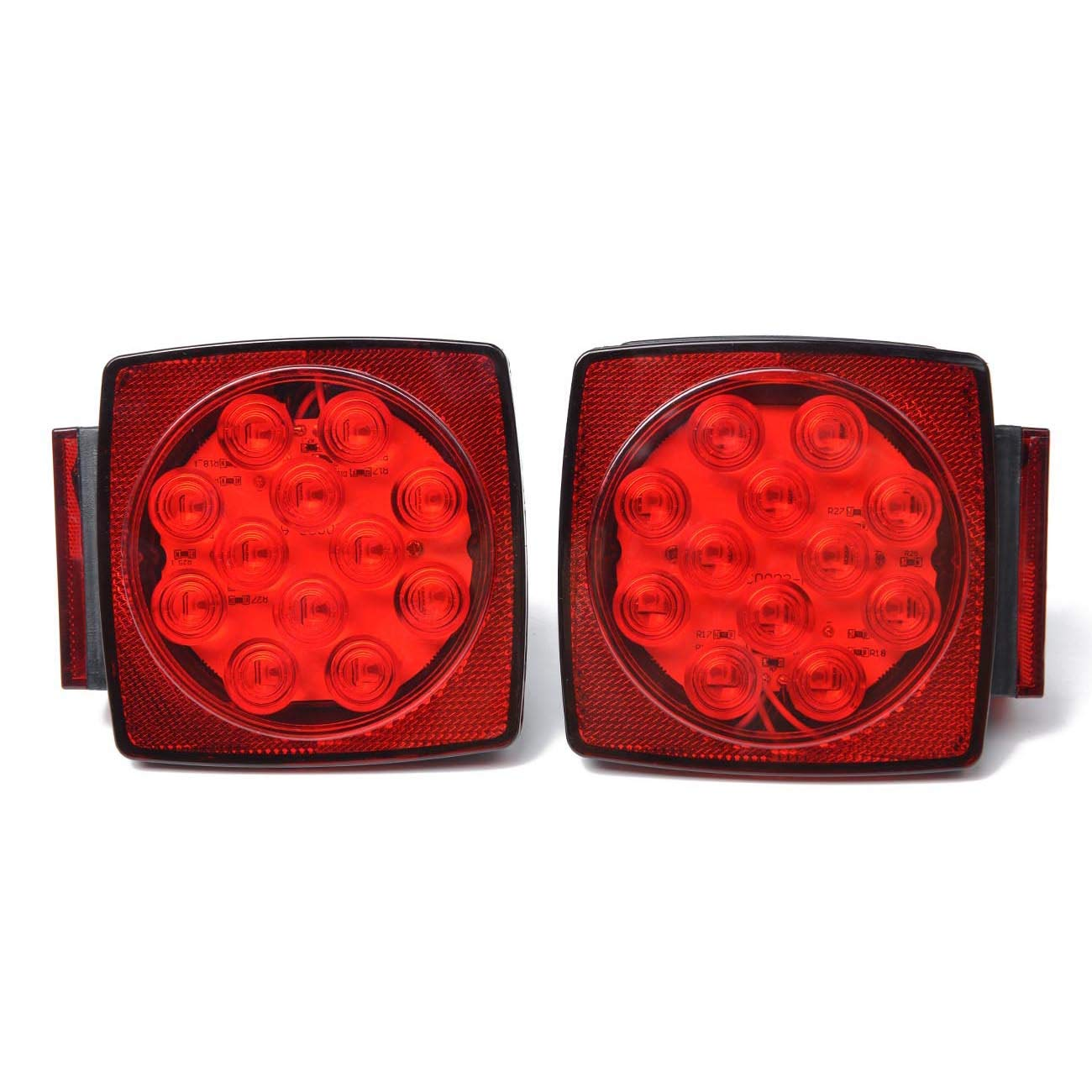 Depo 331-1964L-US2 Ford Crown Victoria Driver Side Replacement Taillight Unit without Bulb 02-00-331-1964R//L-US1R