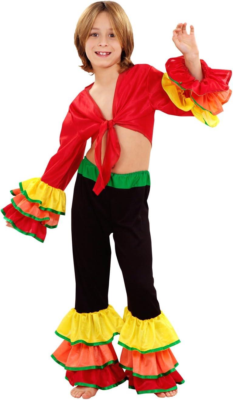 Boys Toys Disfraz de Rumbero Salsa Niño (5-6 años): Amazon.es ...