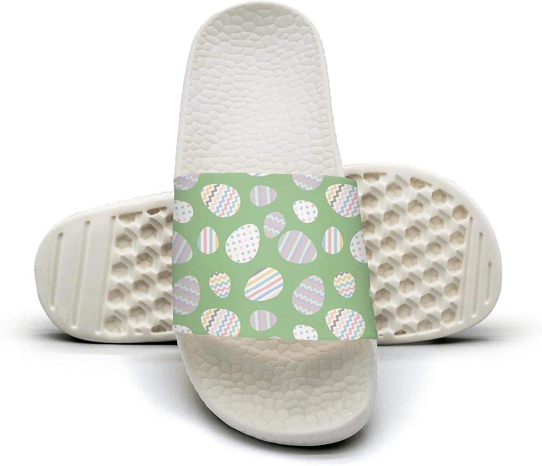AKDJDS White Easter Eggs Walking Sandals Slippers for Men