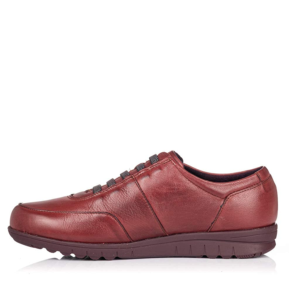 PITILLOS 2985 Zapato Cordon Elastico Piel Mujer