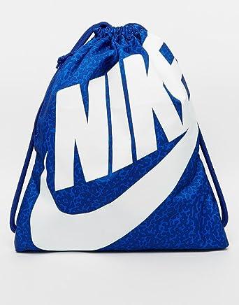 7fb66c8ca6 Nike Heritage Sac de gym/Sac de piscine/gym-Bleu: Amazon.fr: Vêtements et  accessoires