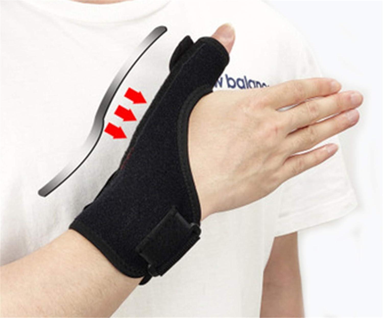 BAIZAN Correas de Envoltura Manual Ajustables para enderezar la Correa de la muñeca de los Dedos Curvada, para Hombres, Las Mujeres alivian el Dolor/Lesiones de la Artritis del Pulgar férula