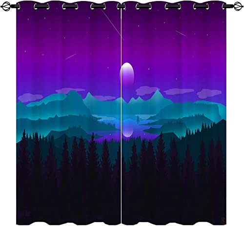 Editors' Choice: ANHOPE Landscape Curtains