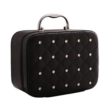 e887f9ad79 Image Unavailable. Image not available for. Color  LXY Large-Capacity  Cosmetics Korea Storage Bag Travel ...