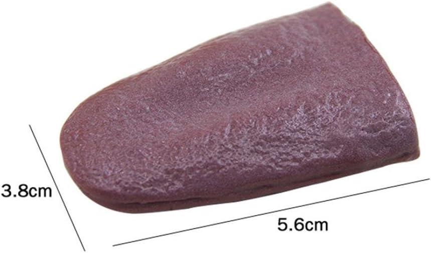 Simulation Toys Clode/® Tongue Trick Magic Horrible Tongue fake tounge realistic elasticity Toy Size:5.6*3.8cm