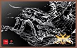 GUILTY GEAR Xrd -REVELATOR- authorized special faceplate monochrome edition Fight Stick Art for Mad Catz TE2 and TE2+ Review
