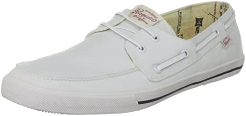 Original Penguin Canvas Boat Shoe, Mocasines para Hombre, Blanco, 40 EU: Amazon.es: Zapatos y complementos
