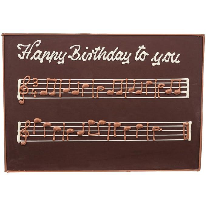 Felicitas Tablero de chocolate Feliz cumpleaños Chocolate ...