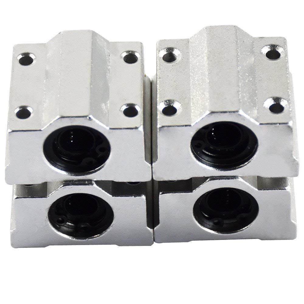 Lm20uu 4,2/x 3,2/cm Linear Motion Machinery lin/éaire Roulement /à billes Argent Lot de 5