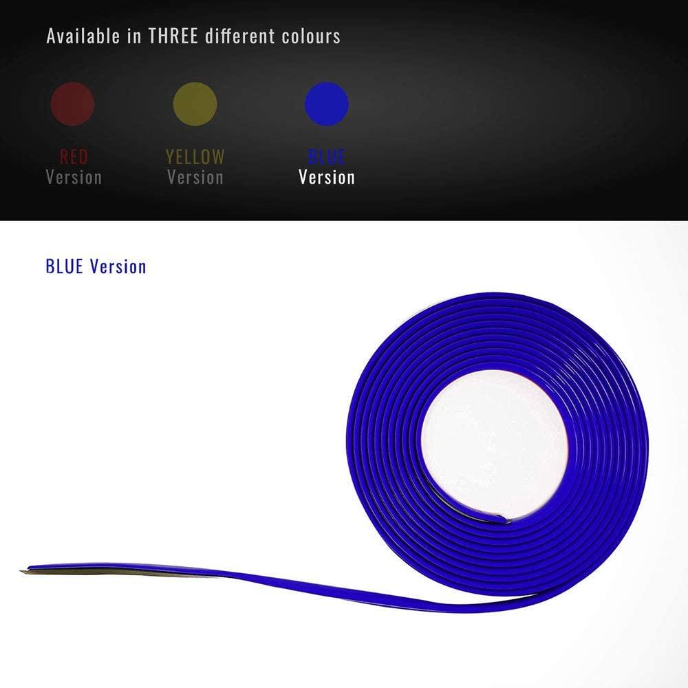 arri/ère P Profil bleu adh/ésif pour DAM pare-chocs Full avant 308