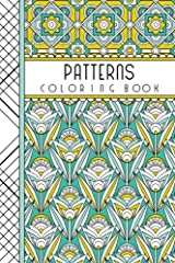 """Patterns: 4"""" x 6"""" Pocket Coloring Book Featuring 75 Patterns for Coloring (Jenean Morrison Adult Coloring Books) Paperback"""