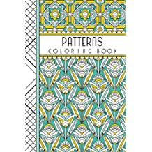 """Patterns: 4"""" x 6"""" Pocket Coloring Book Featuring 75 Patterns for Coloring (Jenean Morrison Adult Coloring Books)"""