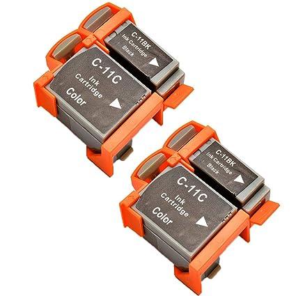 Teng® - Cartucho de Tinta Compatible con Canon BCI-11 de ...