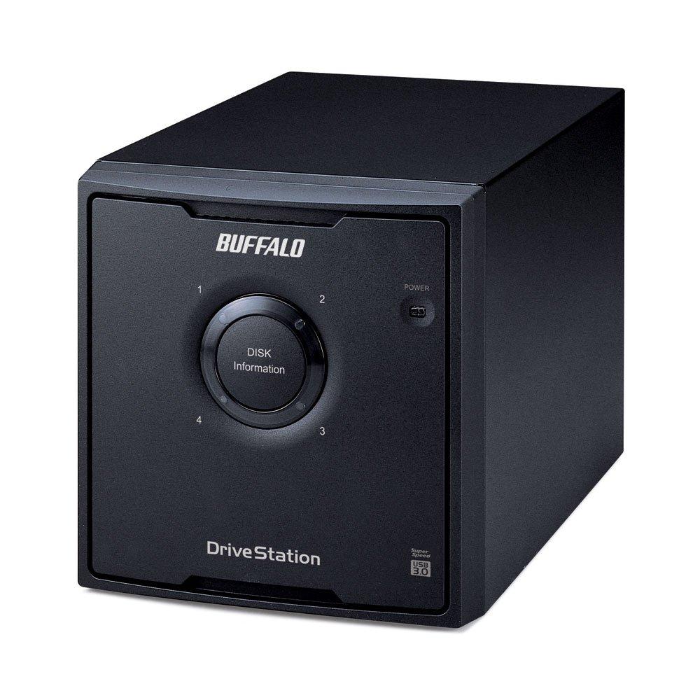 バッファロー HDーQH12TU3/R5 RAID 5対応 USB3.0 外付けHD B00M77UI4M