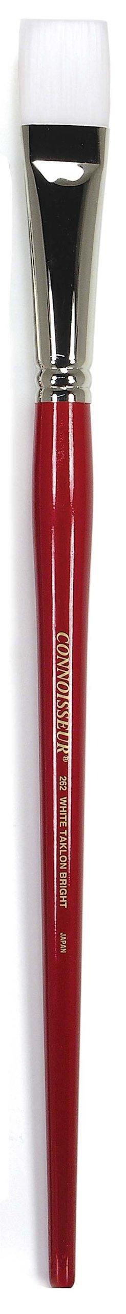Connoisseur White Taklon All Media Brush, #2 Bright