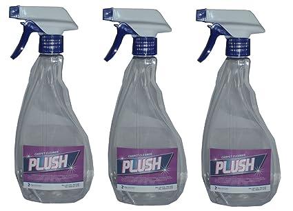 3 x 500 ml poderosa fuerza limpieza de alfombras solución Champú – suciedad Grime quitamanchas –