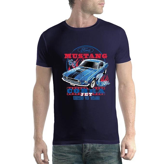 f6e50fca16c87 Ford Mustang Cobra Jet 1968 Herren T-Shirt XS-5XL  Amazon.de  Bekleidung