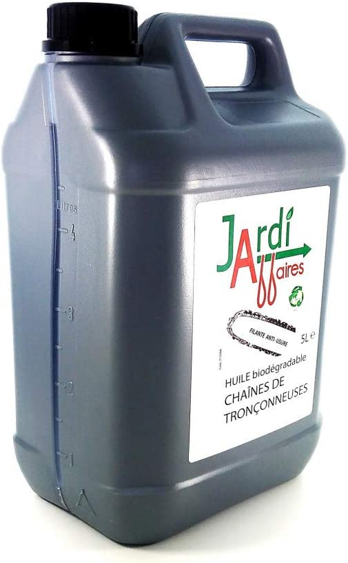 Aceite de cadena para motosierra Jardiaffaires biodegradable 5 ...