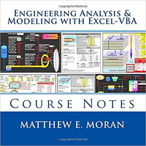 Engineering Analysis & Modeling with Excel-VBA: Course Notes