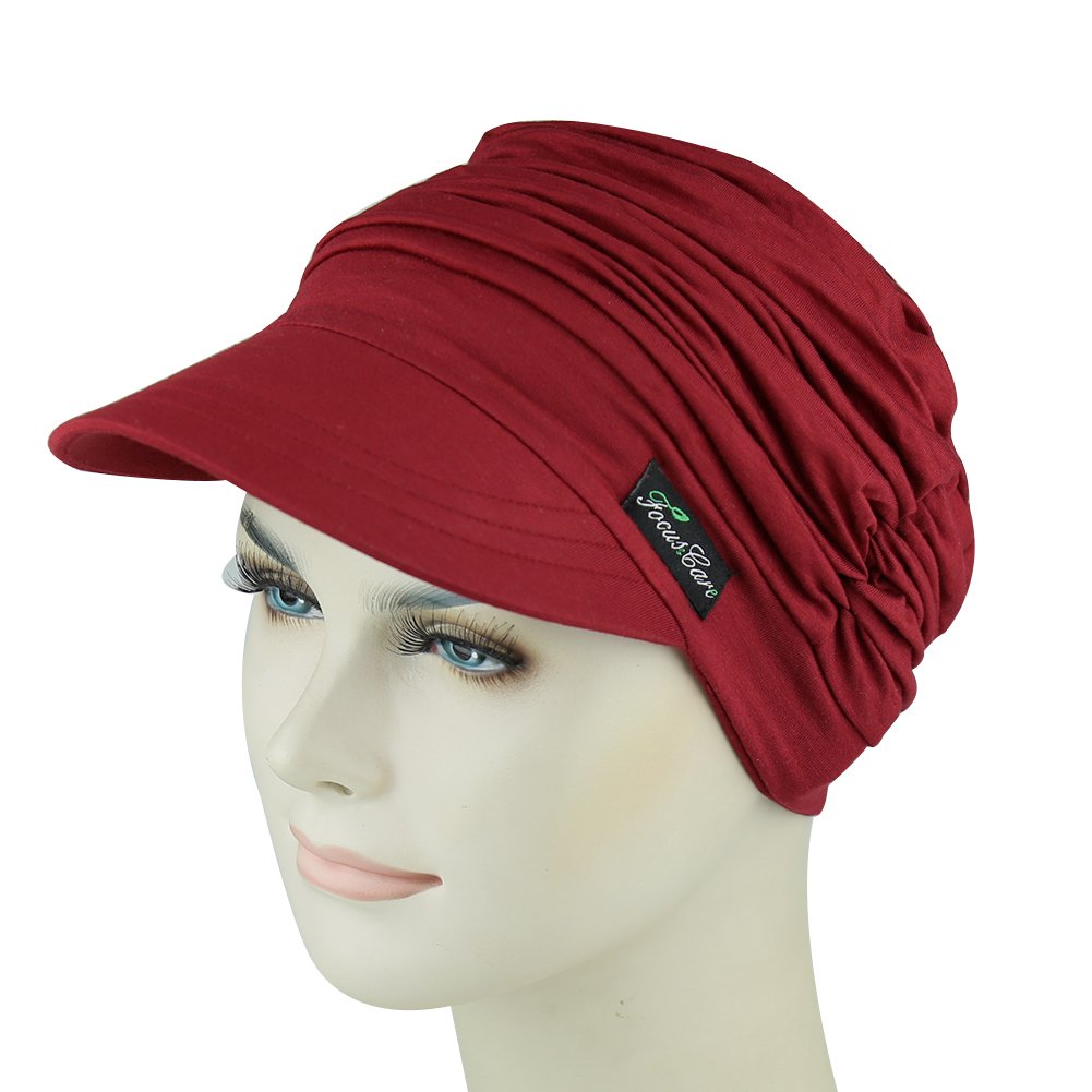 Novelty Headwear For Chemo Women Holiday Turbans For Travel Shopping Cap For Hair Loss