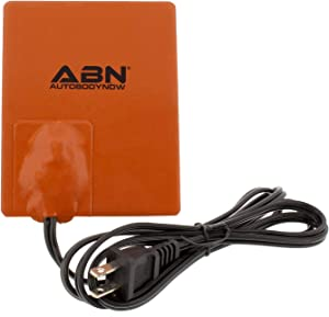 Abn Silicone Heater Pad Car Battery Heater Pad Engine Block Heater Pad Oil Pan Heater Pad, 4x5 Inch – 120V 250 Watt