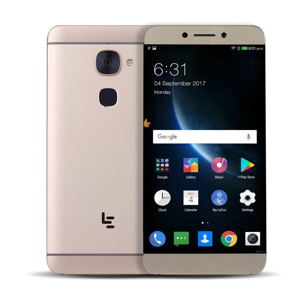 Smartphone sin Contrato 4 G, letv leeco x626 Dual SIM Diez de Core Android OS 6.0 funda con sensor de huellas dactilares, 5.5 inch FHD 1920 x 1080 píxeles de la pantalla,