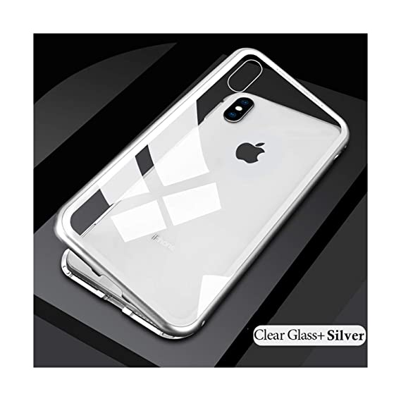 new style decab cd60c Amazon.com: Metal Magnetic Case for iPhone XR XS MAX X 8 Plus 7 + ...