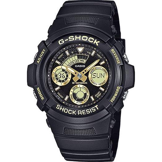 Casio Reloj Analogico-Digital para Hombre de Cuarzo con Correa en Resina AW-591GBX