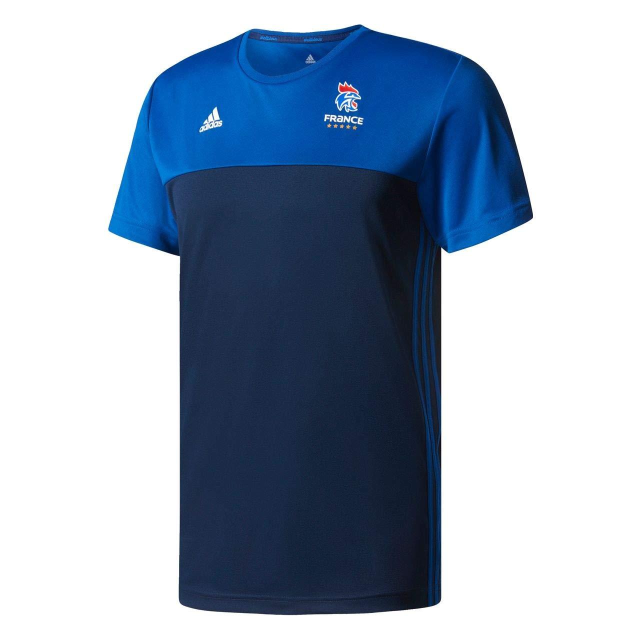 TALLA XS. adidas FFHB Performance–Camiseta de, Todo el año, Hombre, Color Conavy/Croyal/White, tamaño Extra-Small