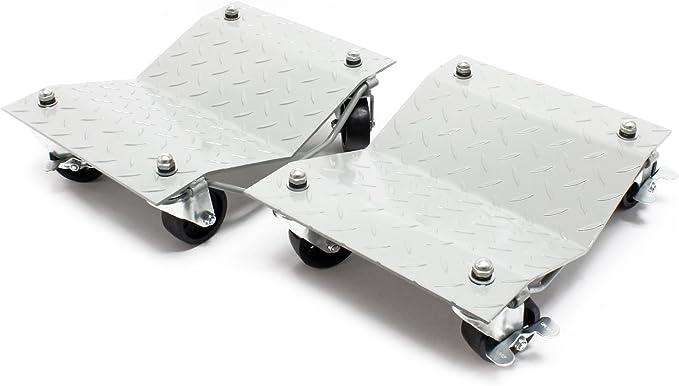 Rangierroller 2 Stück Mit Jeweils 680 Kg Traglast Rangierhilfe Rangierheber Auto
