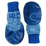 RC Pet Products Sport Pawks Dog Socks, Medium, Blue Heather