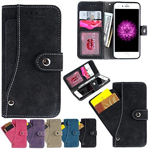 iPhone Wallet Firefish Leather Compartment
