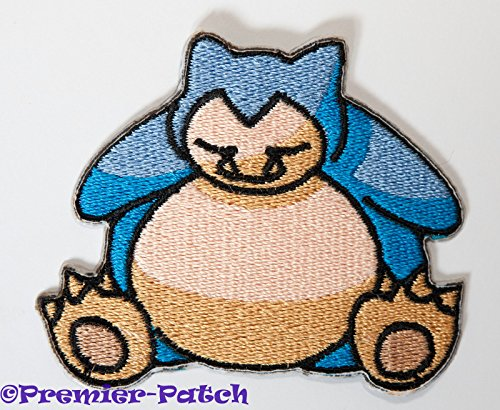 Costume Vulpix Cosplay (Snorlax Embroidered Iron/Sew on Patch - 3