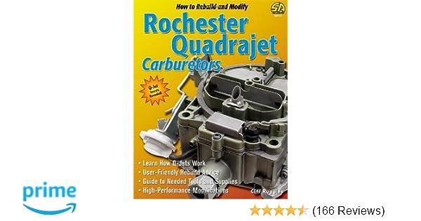 How to Rebuild & Modify Rochester Quadrajet Carburetors (S-a
