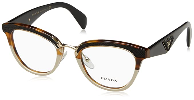 c8418b4c8e07 Prada 0PR 26SV Havana Eyeglasses at Amazon Women s Clothing store
