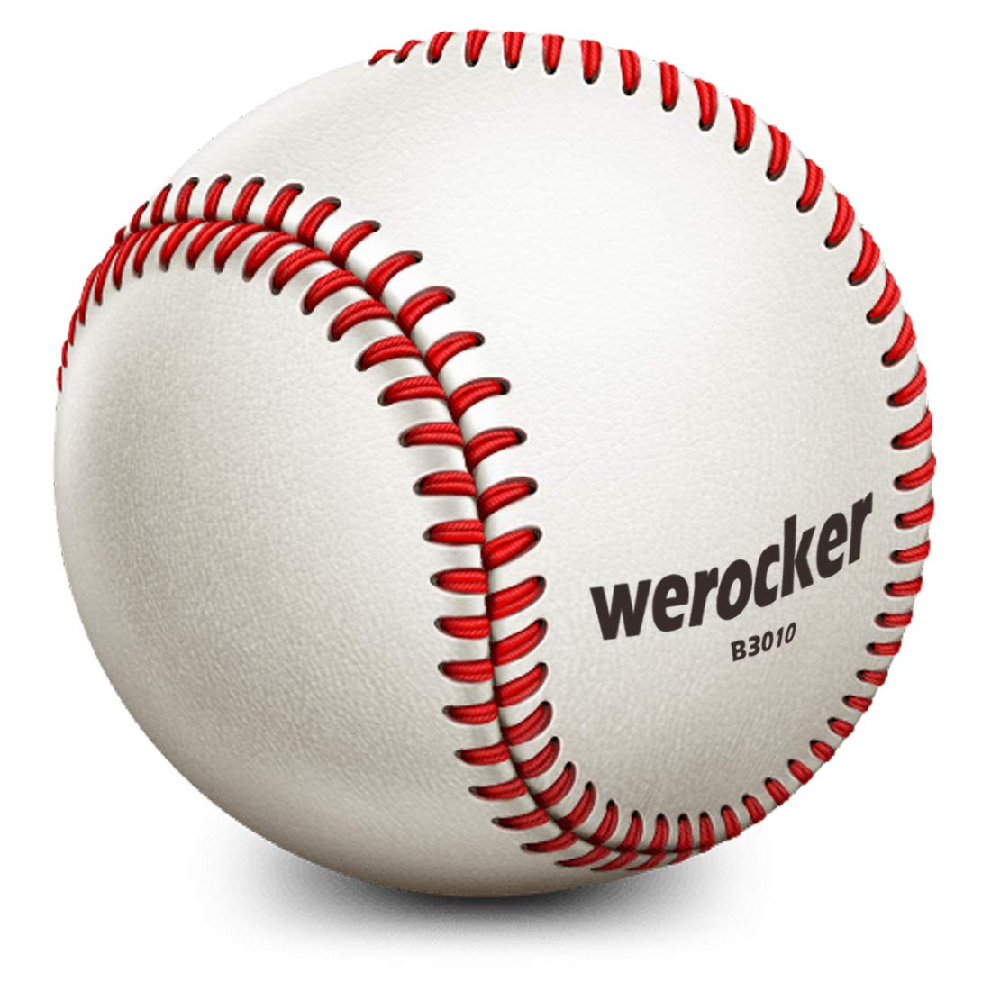 SZRHY Baseball bä lle anfä nger Baseball bä lle fü r Recreational League Play Wettbewerb 9 Zoll Weiß