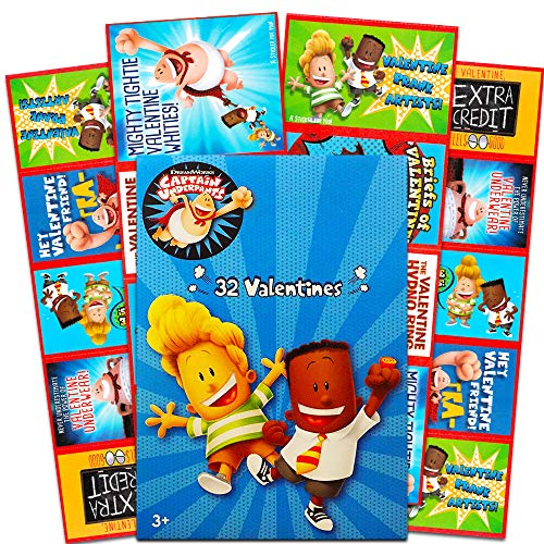 (32 Captain Underpants Valentine Day Sharing)