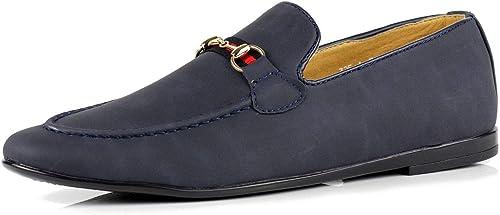 Mens Smart Designer Shoes Suede Driving