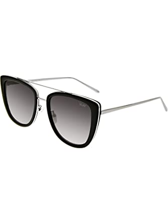 c7fc58d1c6 Quay Australia FRENCH KISS Women s Sunglasses Oversized All Occasions -  Black Smoke