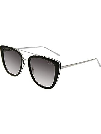 103e1d4713 Quay Australia FRENCH KISS Women s Sunglasses Oversized All Occasions -  Black Smoke