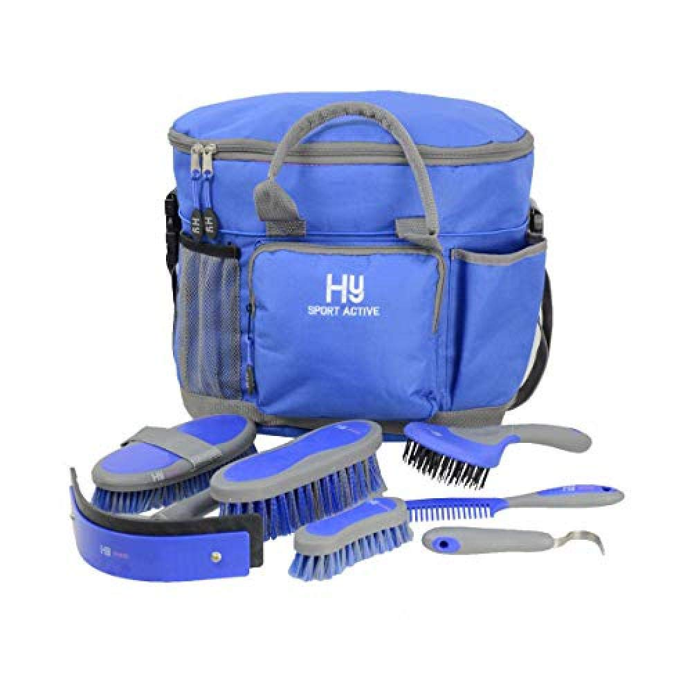 Hy Sport Active Complete Grooming Bag (One Size) (Regal Blue)
