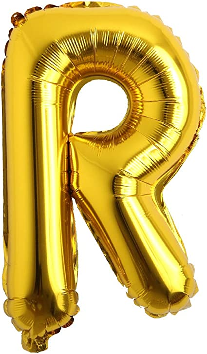 16 Gold Letter Balloons Foil Balloons Gold Balloons Wedding Balloons Gold Wedding Number Balloons Alphabet Balloon Free Shipping