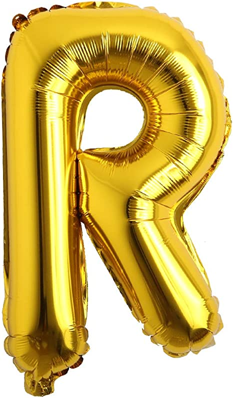 """Gold Silver 16/"""" Helium Aluminum Foil Numbers Balloon Wedding Banner Party Decor"""