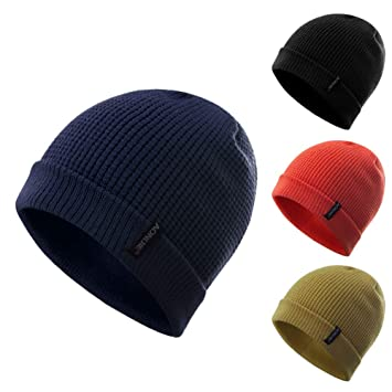 AONIJIE New Men Women Sport Running Beanie Winter Soft Warm Hats Winter  Soft Warm Hats Spandex db35562830b
