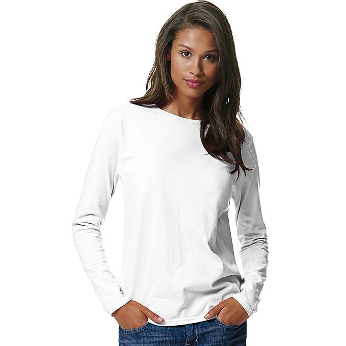 d9adebe0b41e Hanes Women's Long-Sleeve T-Shirt at Amazon Women's Clothing store: