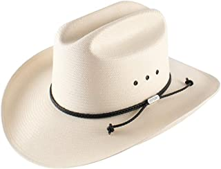 product image for Stetson Men's Carson 10X Shantung Straw Cowboy Hat - Sscrcmk6036