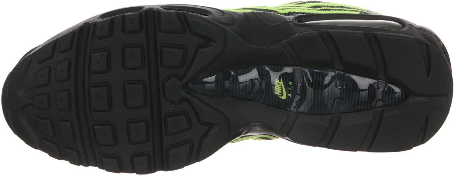 huge selection of 8cfb9 0870d ... Amazon.com  Nike Air Max 95 Jacquard Mens Shoes BlackSilver-Anthracite  ...