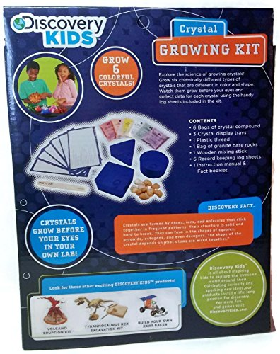 Amazon Discovery Kids Crystal Growing Kit Ages 8 Toys Games