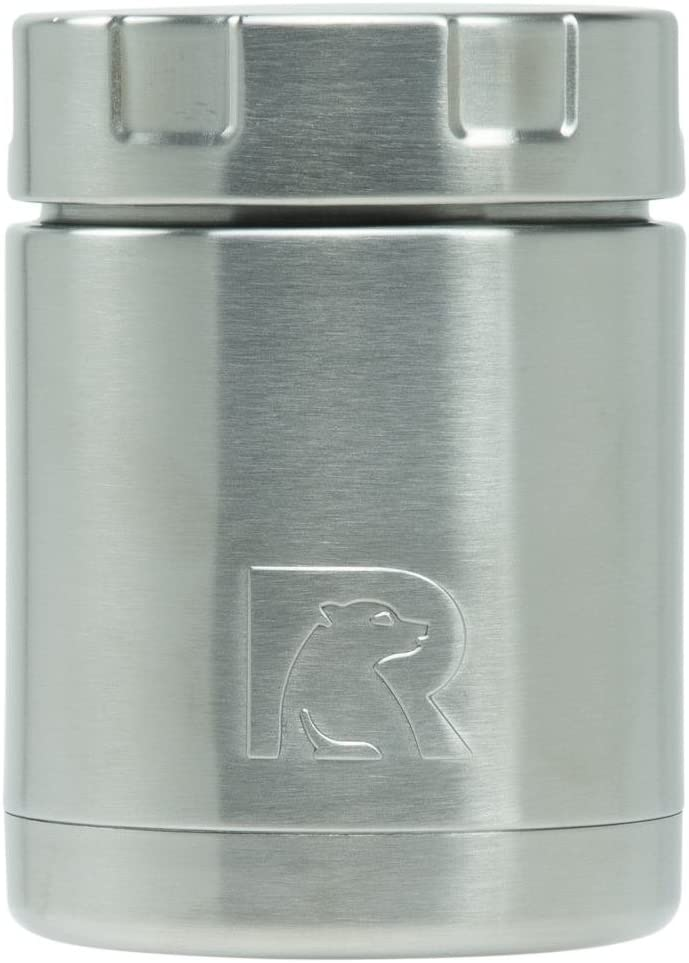 RTIC 12oz Vacuum-Insulated Food Canister, Stainless Steel, Jar Keeps Food Hot All Day