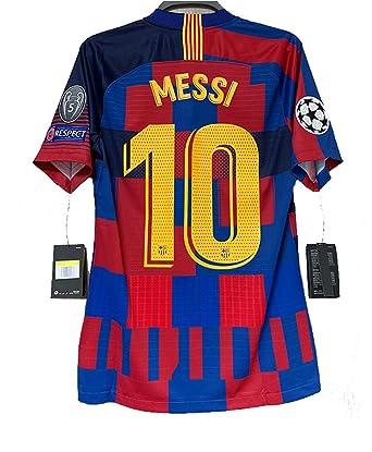 54313da1003 ZhouDress Barcelona  10 Messi 2018 2019 Mens Commemorative Limited Edition  Soccer Jersey   Armbands